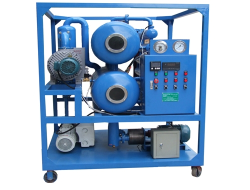 High Vacuum Transformer Oil Filtration Machine