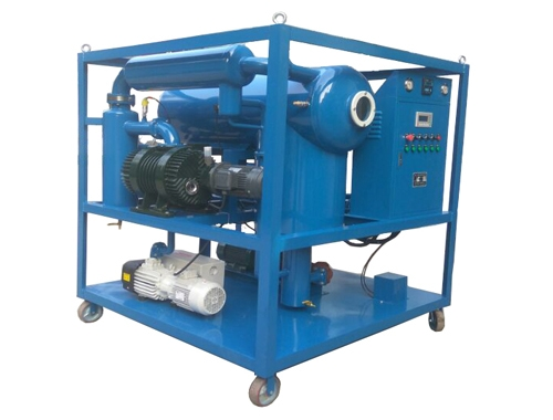 3000L/H High Vacuum Transformer Oil Purifier