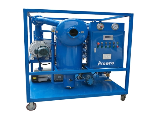 VDF Vacuum Dehydration Oil Purification System