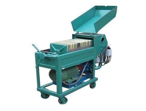 PF Plate Press Oil Filter Machine