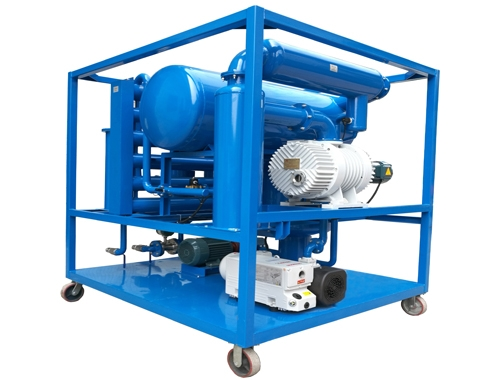 High Vacuum Transformer Oil Purification Machine