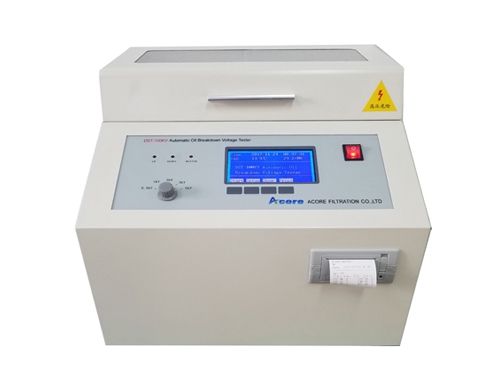 DST Insulating Oil Tester For Dielectric Breakdown Voltage
