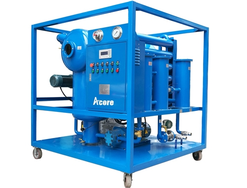 High Vacuum Transformer Oil Treatment Machine