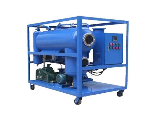 VTP Single Stage Vacuum Transformer Oil Filtration Machine