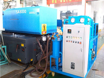 Filtration and Dehydration System of Hydraulic Oil